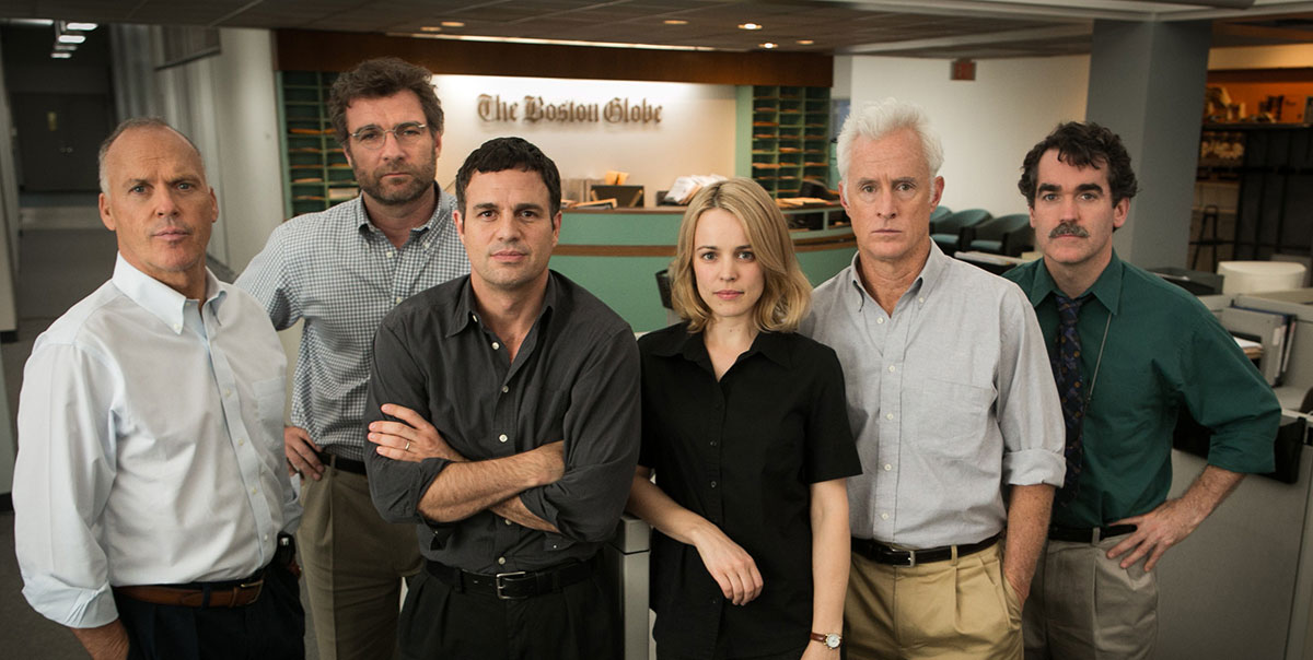 Spotlight : Photo Brian d'Arcy James, John Slattery, Liev Schreiber, Mark Ruffalo, Michael Keaton