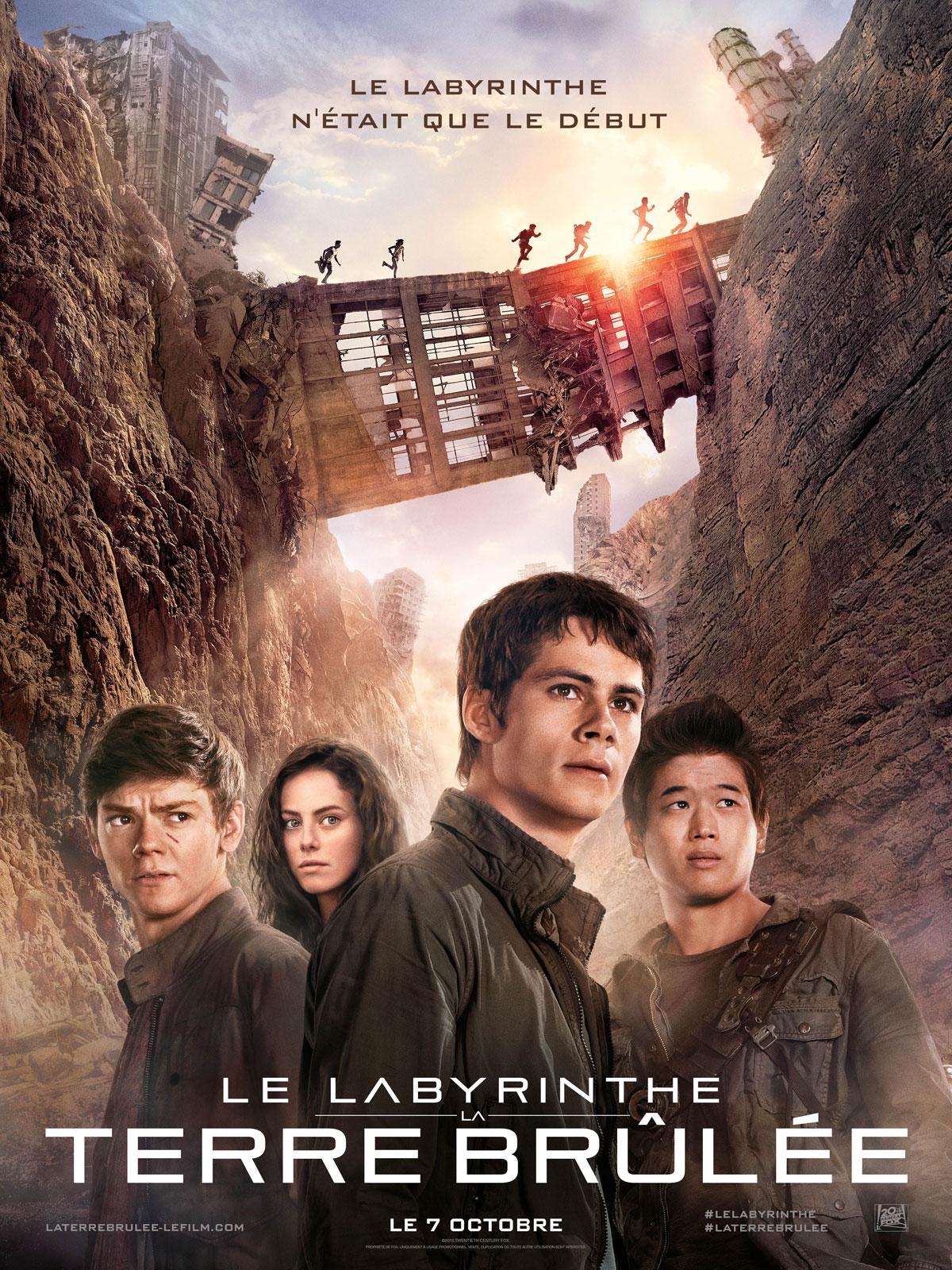 Hunger Games L Embrasement Streaming Vf Gratuit : hunger, games, embrasement, streaming, gratuit, Labyrinthe, Terre, Brûlée, AlloCiné