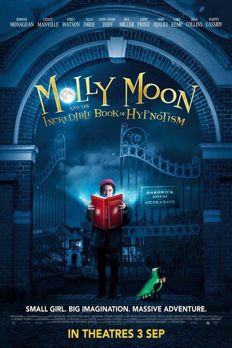 Molly Moon Et Le Livre Magique De L'hypnose : molly, livre, magique, l'hypnose, Molly, Livre, Magique, L'hypnose, AlloCiné