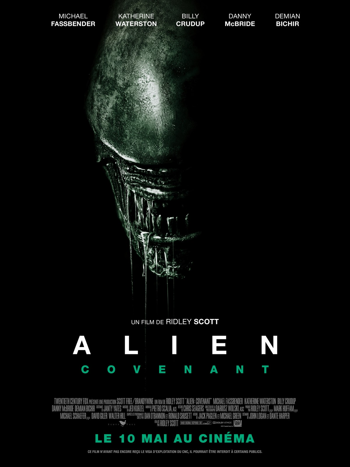 Alien: Covenant Français HDRiP