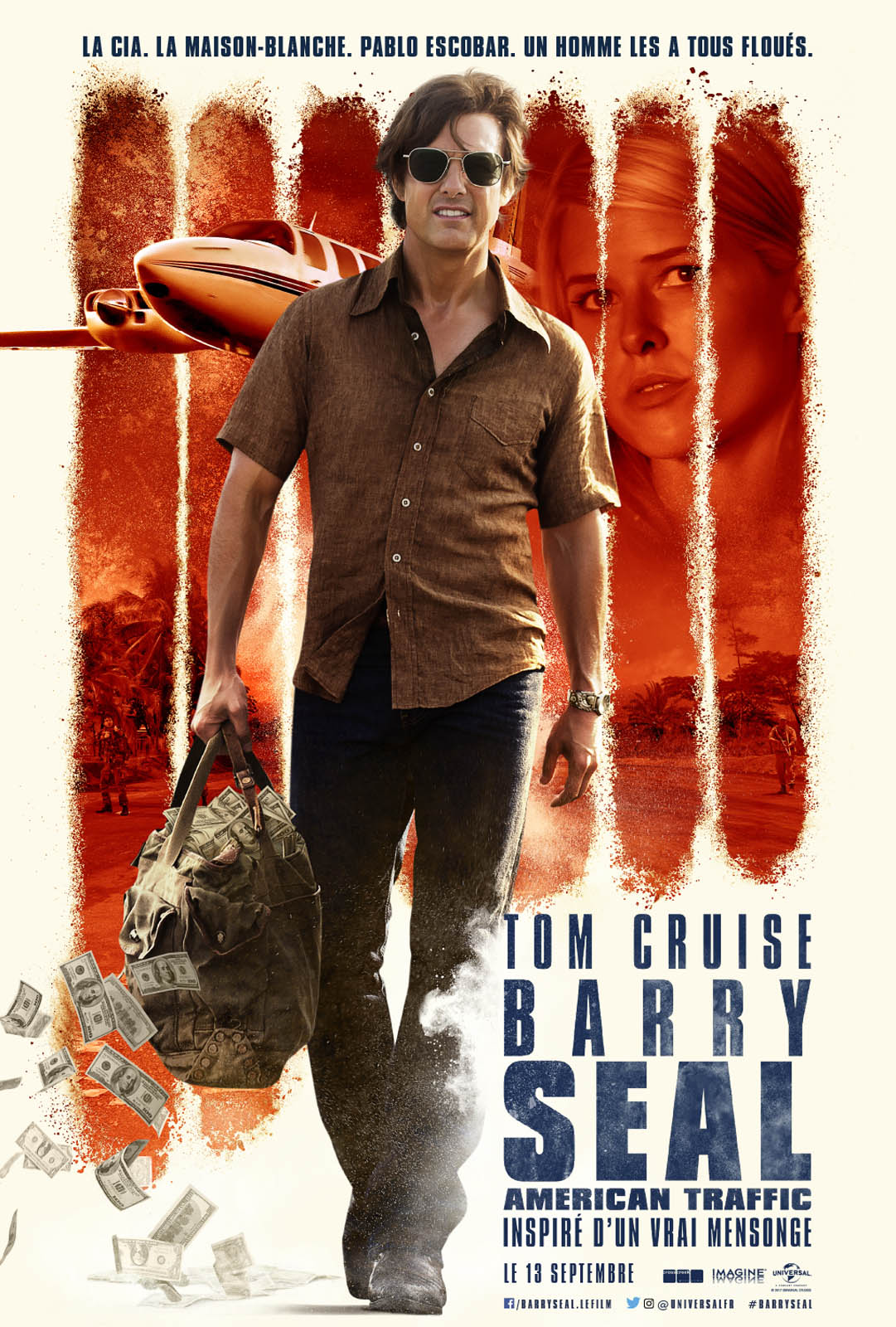 Barry Seal : American Traffic Français CAM