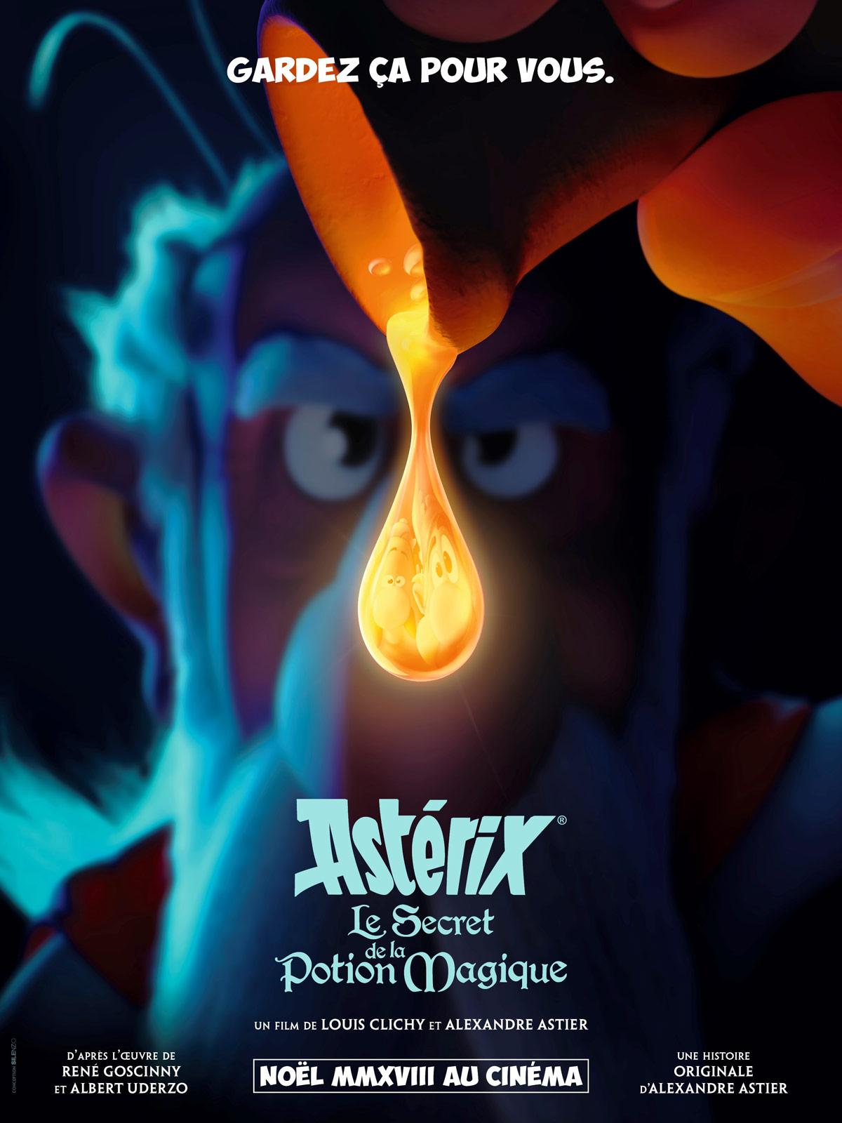 """Résultat de recherche d'images pour """"astérix le secret de la potion magique affiche"""""""