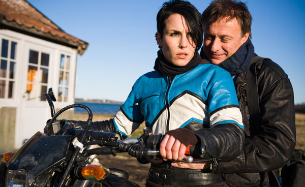 Millénium, le film : Photo Michael Nyqvist, Niels Arden Oplev, Noomi Rapace