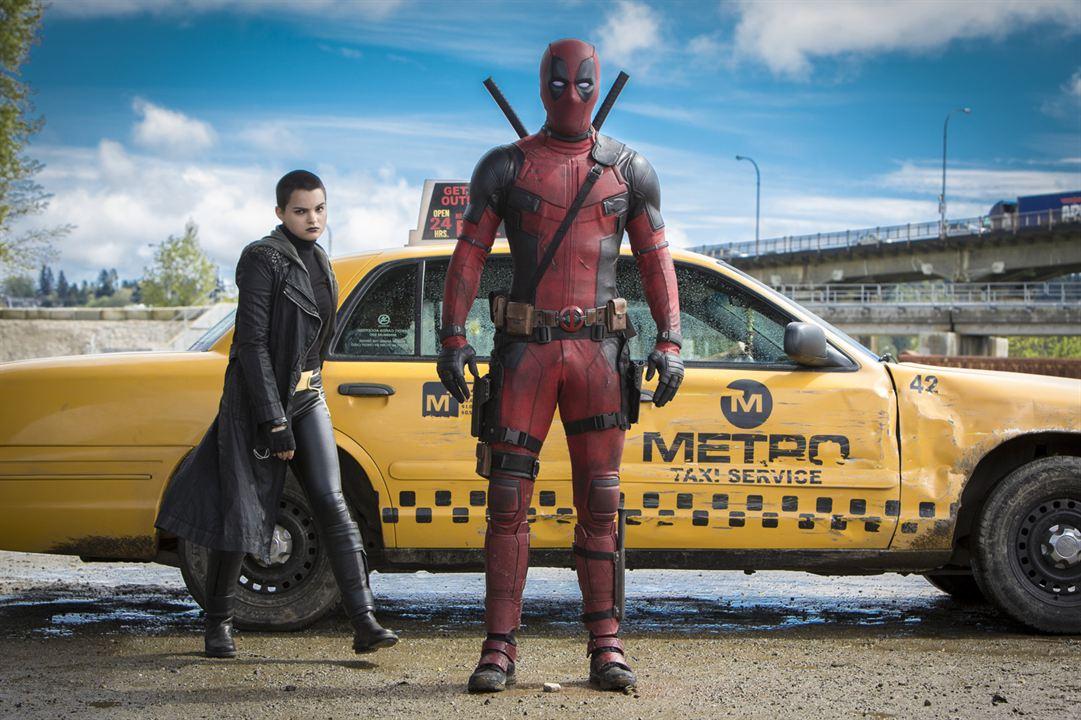 Deadpool : Photo Ed Skrein, Gina Carano, Ryan Reynolds