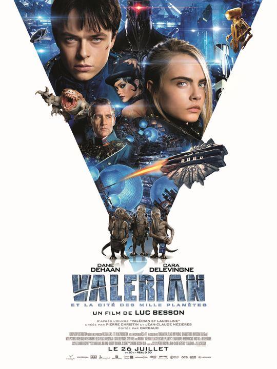 Valérian et la Cité des mille planètes : Affiche