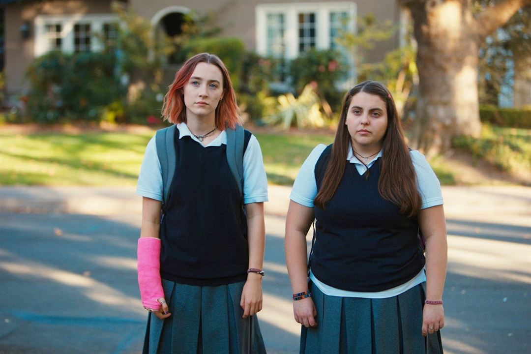 Lady Bird : Photo Danielle Macdonald, Saoirse Ronan