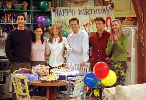 Friends : Photo Courteney Cox, David Schwimmer, Jennifer Aniston, Lisa Kudrow, Matt LeBlanc