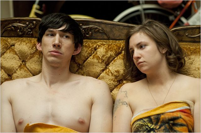 Photo Adam Driver, Lena Dunham