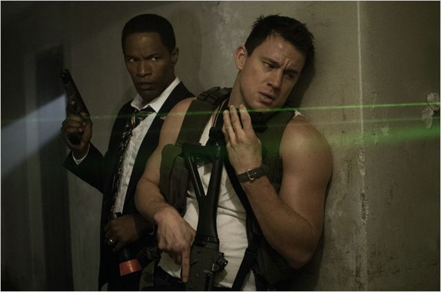 White House Down : Photo Channing Tatum, Jamie Foxx