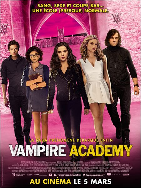 Vampire Academy [BRRiP] [MULTI]
