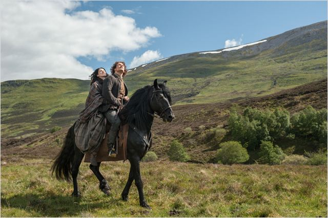 Photo Caitriona Balfe, Sam Heughan