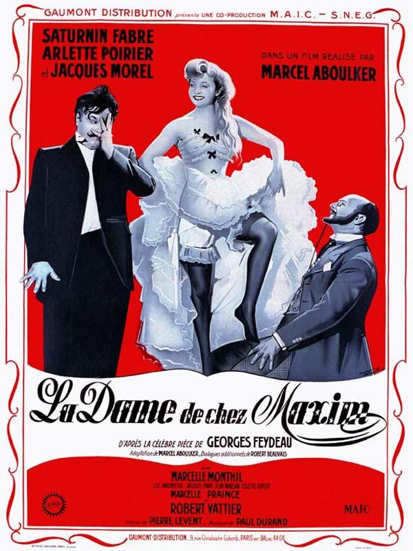 La Dame De Chez Maxim Critique : maxim, critique, Maxim's, AlloCiné