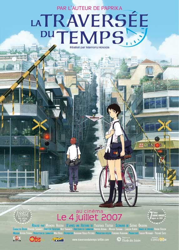 Anime Voyage Dans Le Temps : anime, voyage, temps, Traversée, Temps, AlloCiné