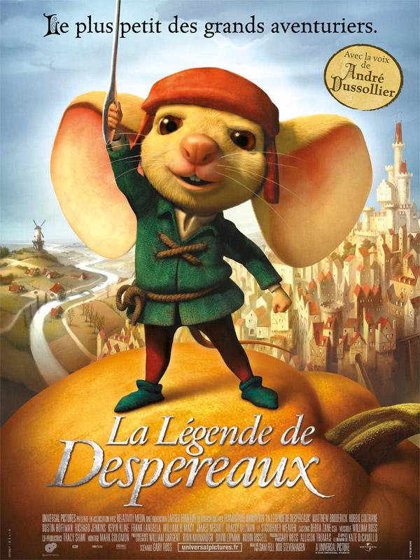 La Légende De Despereaux  Film 2008  Allociné