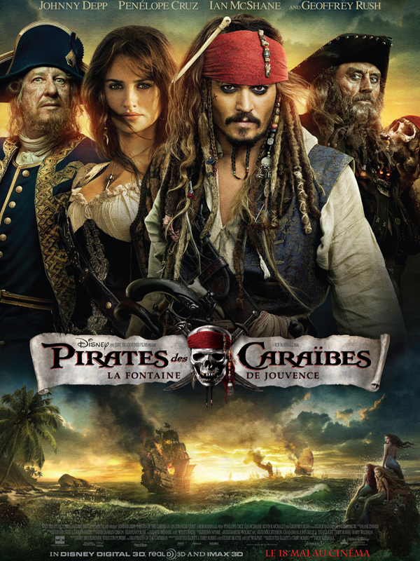 Pirates des Caraïbes : La Fontaine de jouvence - en