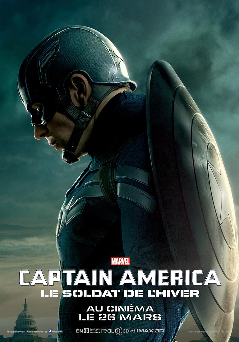 Captain America Et Le Soldat De L'hiver : captain, america, soldat, l'hiver, Affiche, Captain, America,, Soldat, L'hiver, Photo, AlloCiné