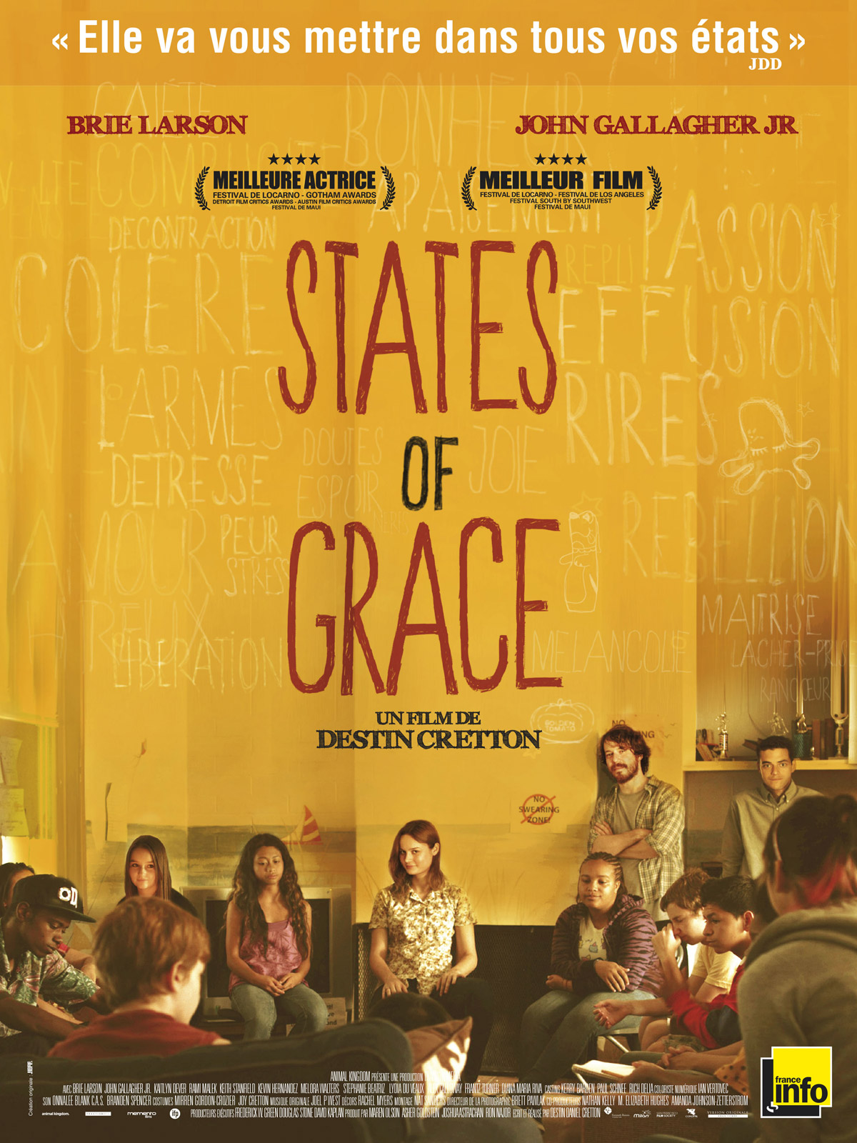 Affiche States of Grace de Destin Cretton