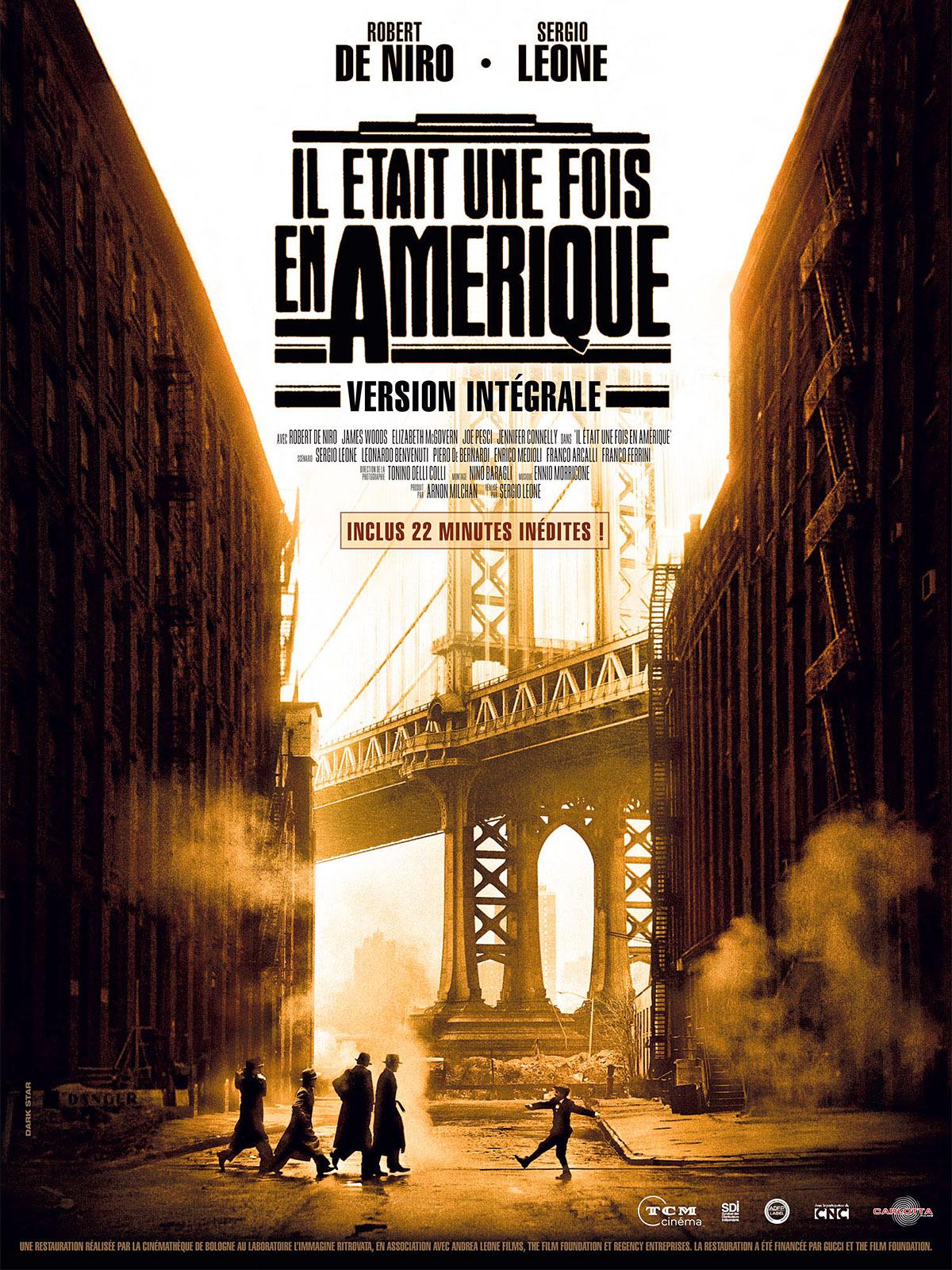 Il était une fois en Amérique de Sergio Leone (1984
