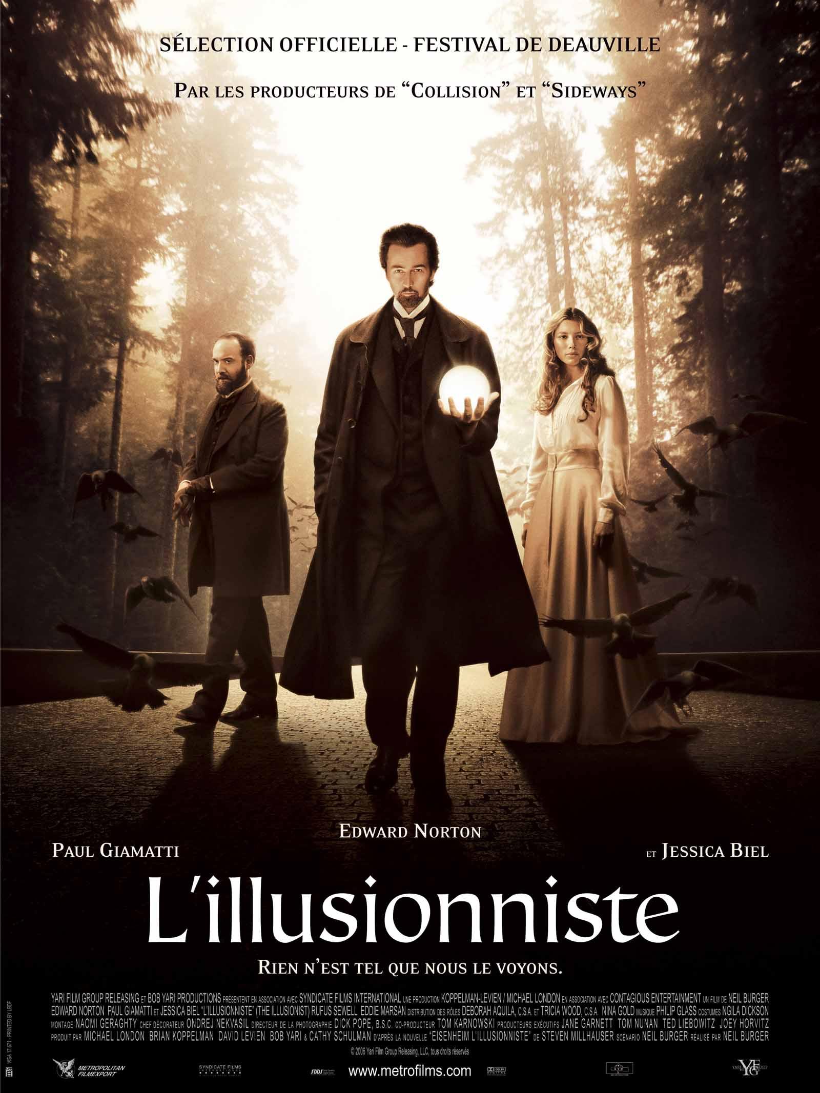 Film Avec De La Magie : magie, L'Illusionniste, AlloCiné