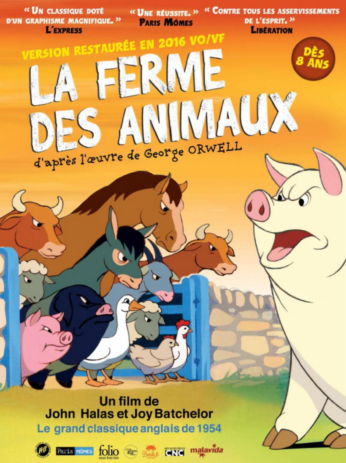 Personnage La Ferme Des Animaux : personnage, ferme, animaux, Anecdotes, Ferme, Animaux, AlloCiné