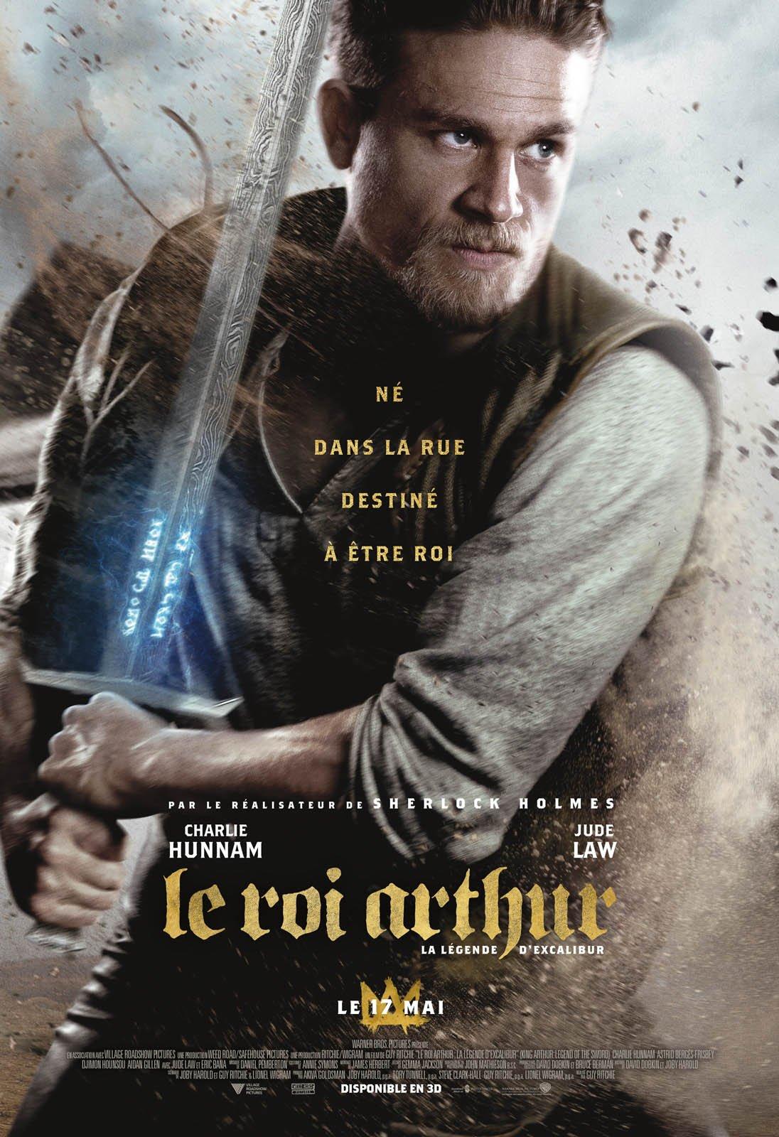 Le Roi Arthur: La Légende d'Excalibur Français HDRiP