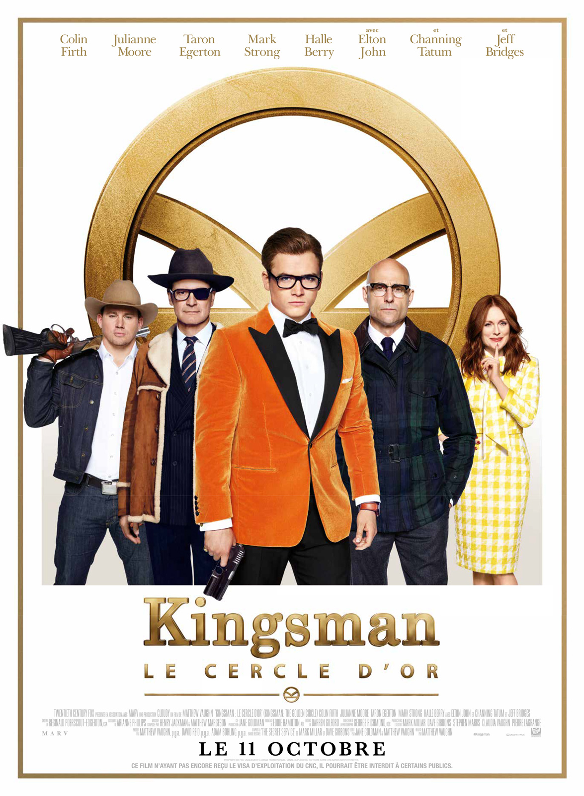 Kingsman : Le Cercle d'or Français BDRiP