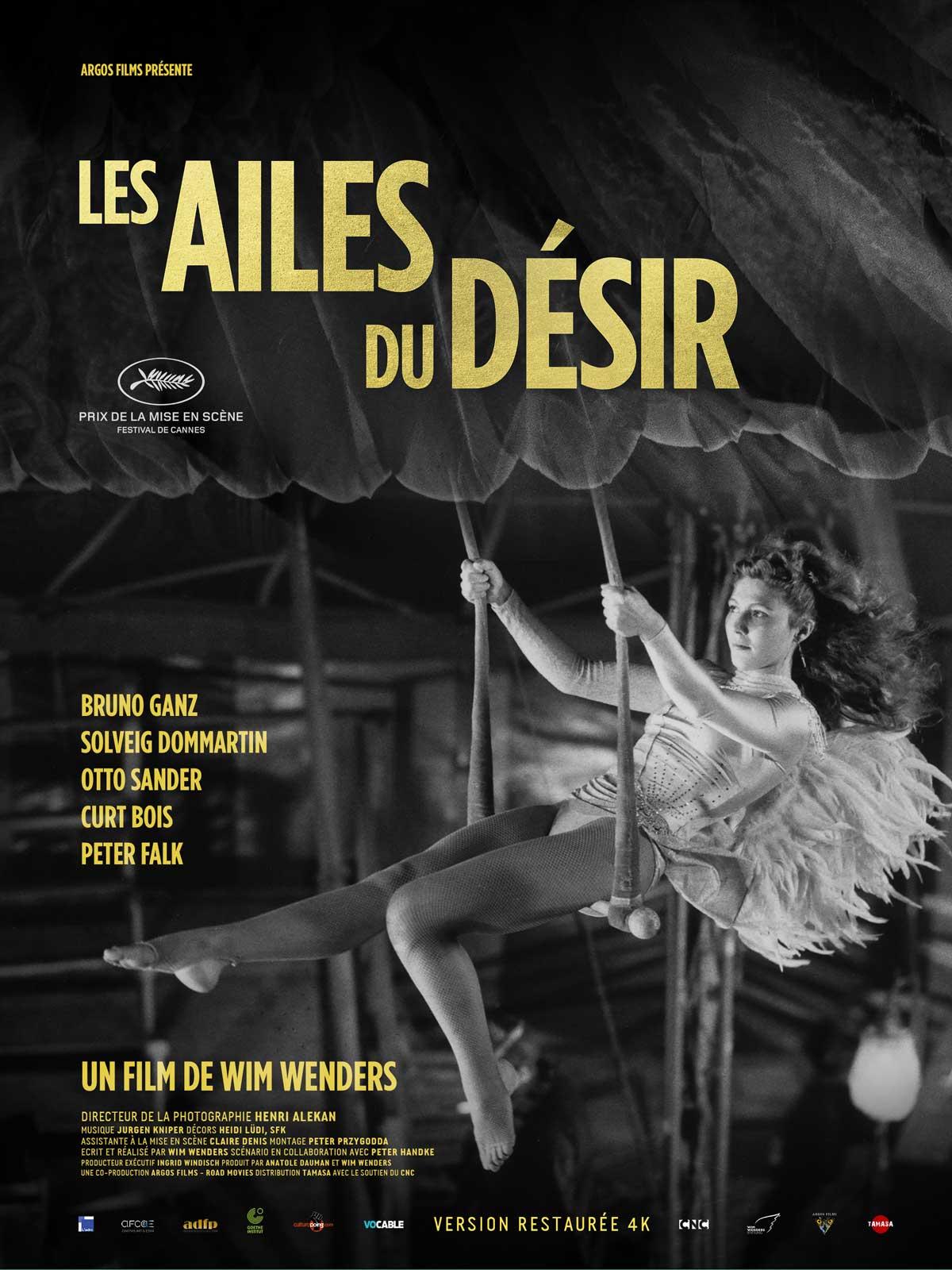 Bruno Ganz Les Ailes Du Désir : bruno, ailes, désir, Achat, Ailes, Désir, AlloCiné