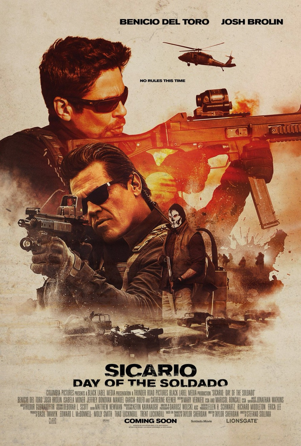 Sicario 2 : La Guerre Des Cartels Streaming Vf : sicario, guerre, cartels, streaming, Affiche, Sicario, Guerre, Cartels, Photo, AlloCiné