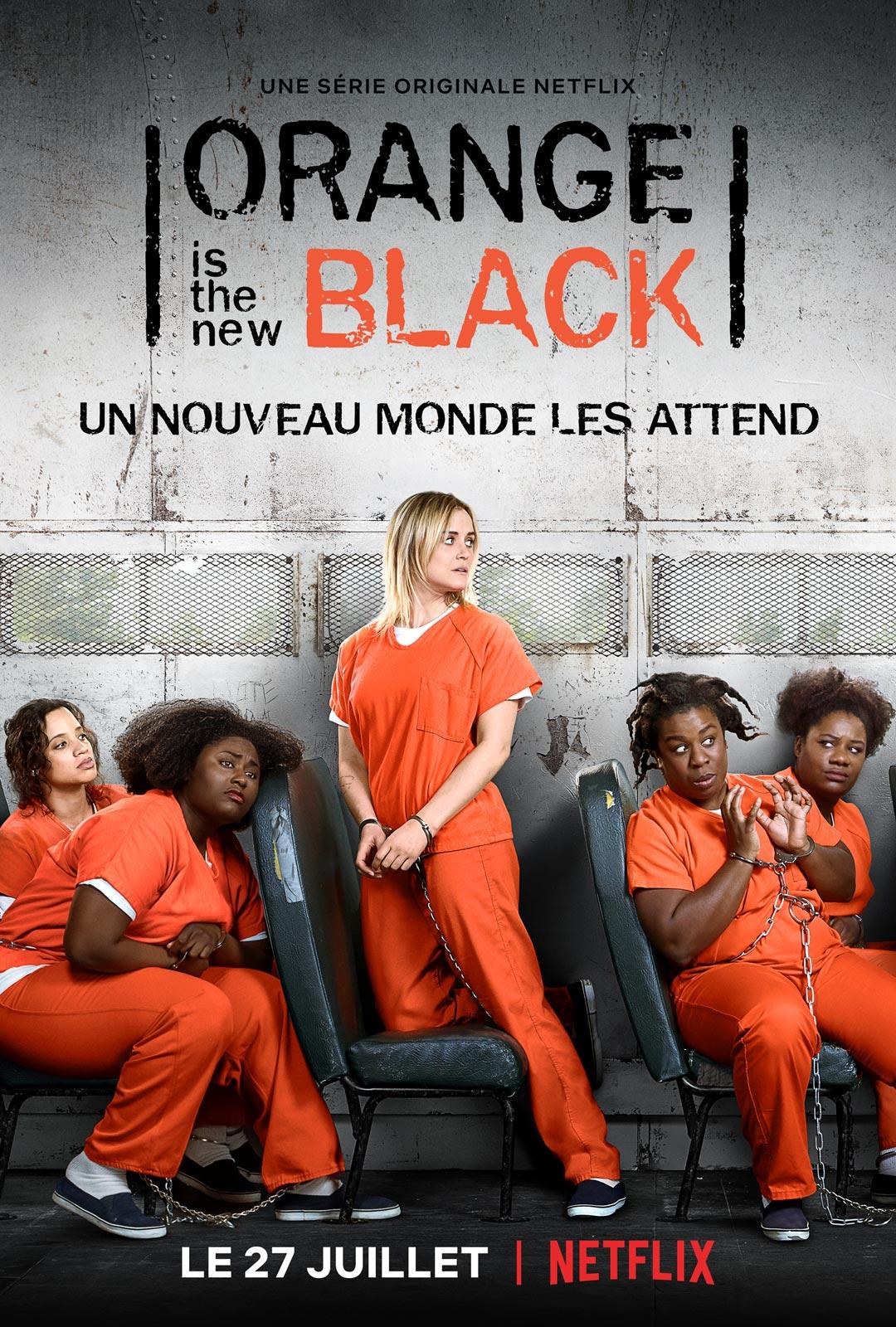 Orange Is The New Black Histoire Vraie : orange, black, histoire, vraie, Orange, Black, Série, AlloCiné