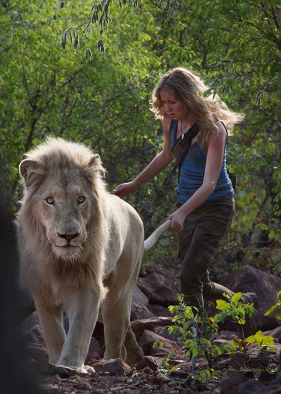 Regarder Mia Et Le Lion Blanc En Streaming : regarder, blanc, streaming, Photo, Daniah, Villiers, Blanc, AlloCiné