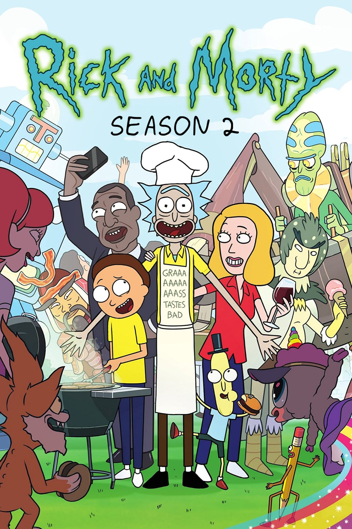Rick Et Morty Saison 3 : morty, saison, Morty, Saison, AlloCiné