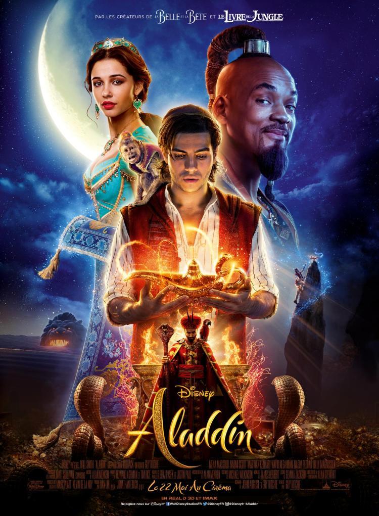"""Résultat de recherche d'images pour """"Aladdin 2019 affiche"""""""