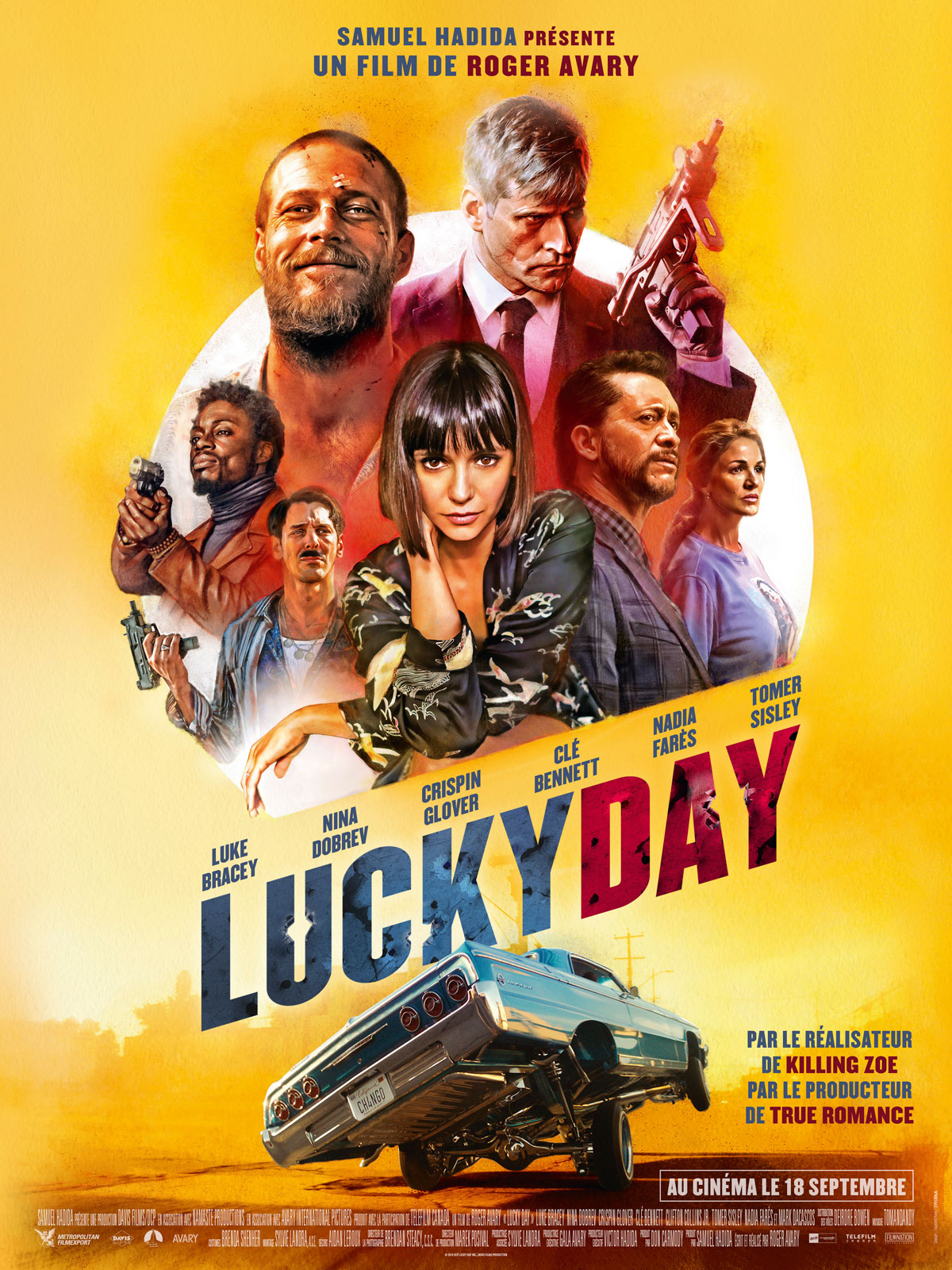 Lucky Day Bande Annonce Vf : lucky, bande, annonce, Achat, Lucky, AlloCiné