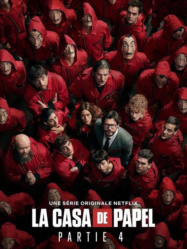 La Casa De Papel Saison 4 Streaming : papel, saison, streaming, Papel, Saison, AlloCiné