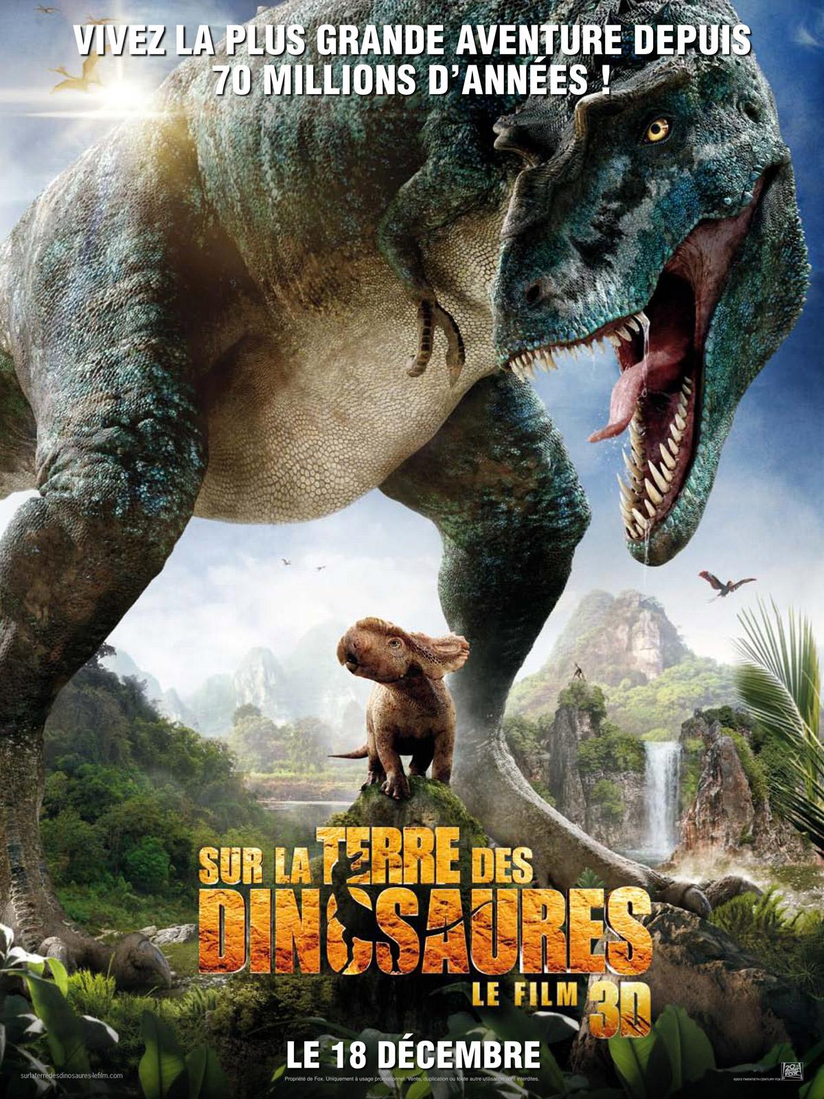 Le Monde Des Dinosaures Avis : monde, dinosaures, Terre, Dinosaures,, AlloCiné