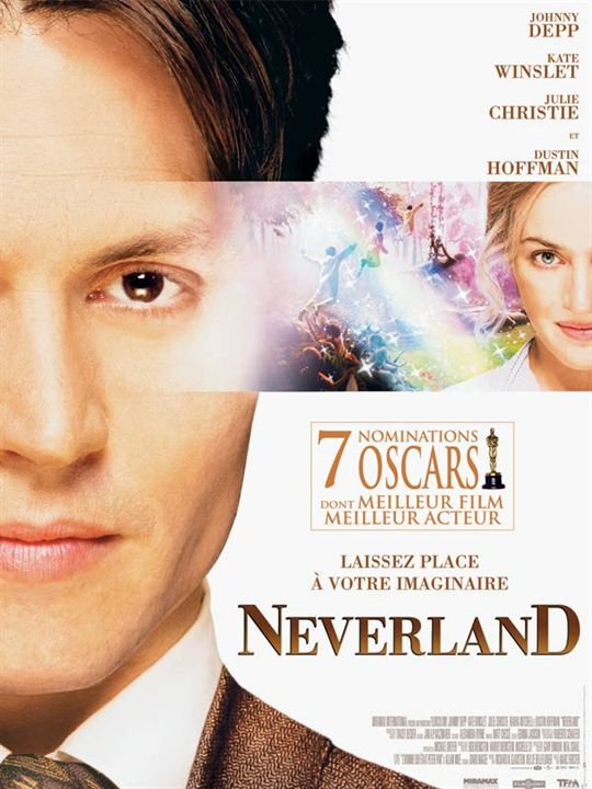 Neverland : Affiche Johnny Depp, Marc Forster