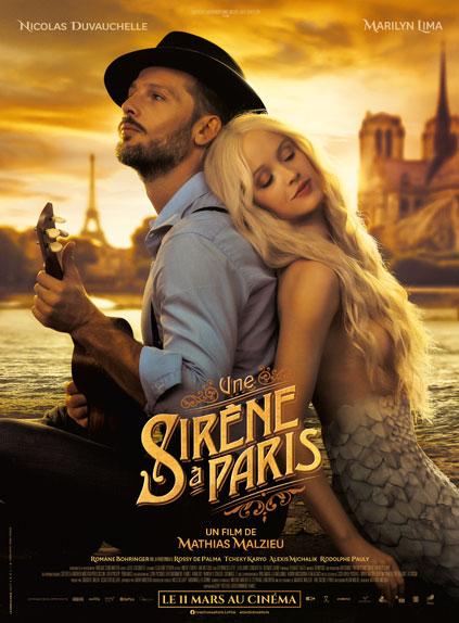 Une Sirene A Paris L Affiche De L Histoire D Amour