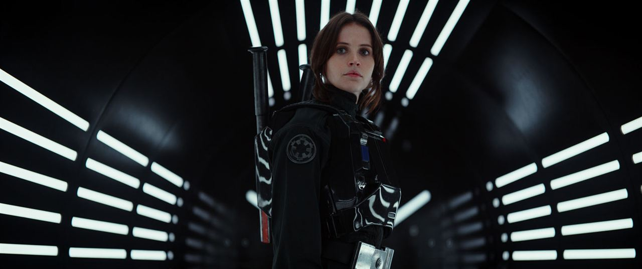 Rogue One: A Star Wars Story : Photo Felicity Jones