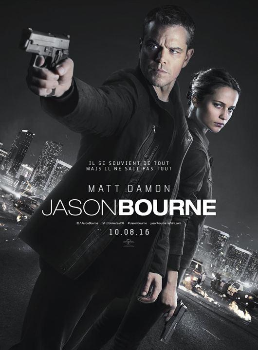 Jason Bourne : Affiche