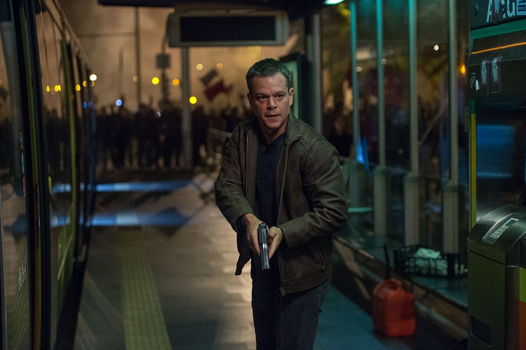 Jason Bourne : Photo Matt Damon