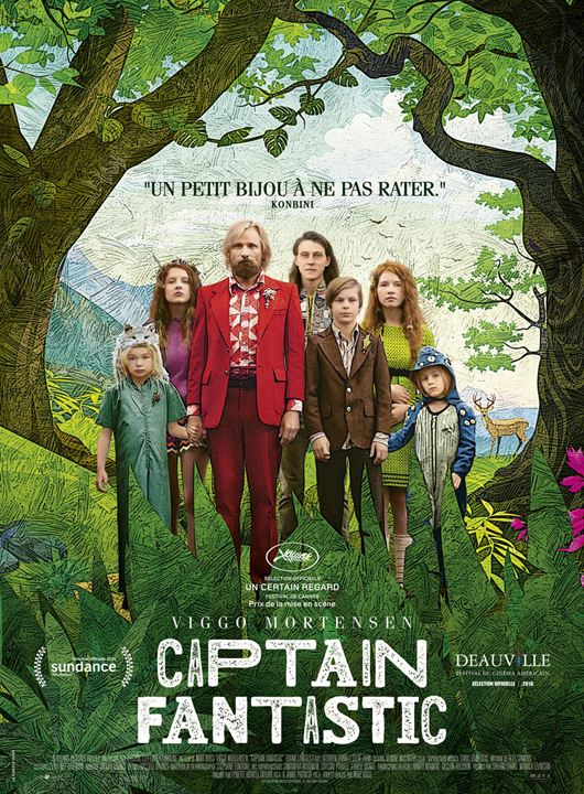 Captain Fantastic : Affiche