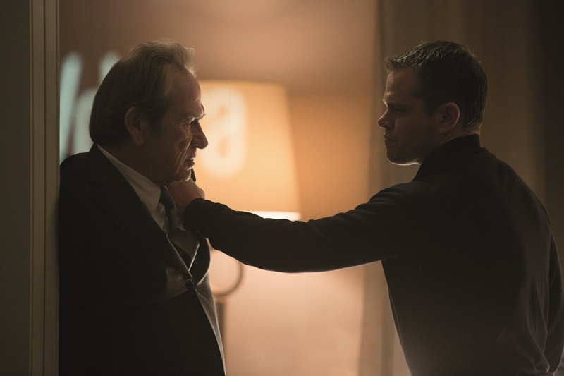 Jason Bourne : Photo Matt Damon, Tommy Lee Jones