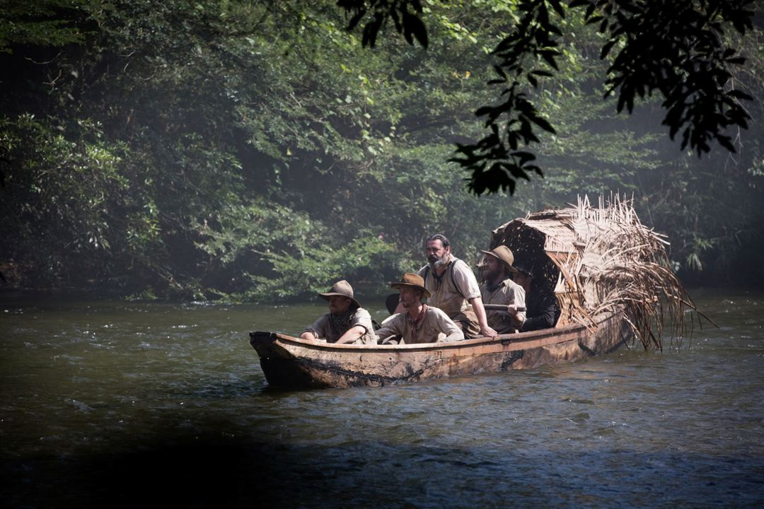The Lost City of Z : Photo Angus Macfadyen, Charlie Hunnam, Edward Ashley, Robert Pattinson