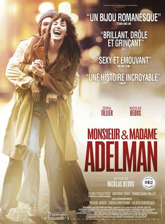Monsieur & Madame Adelman : Affiche
