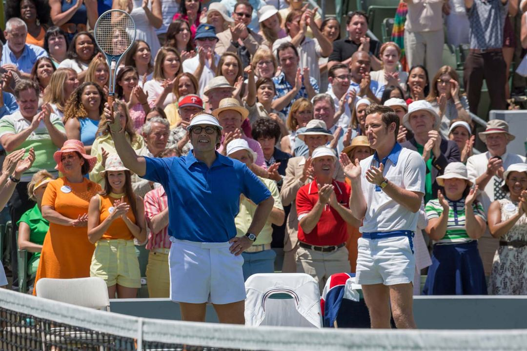 Battle of the Sexes : Photo Lewis Pullman, Steve Carell