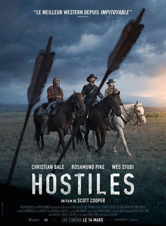 Hostiles : Affiche