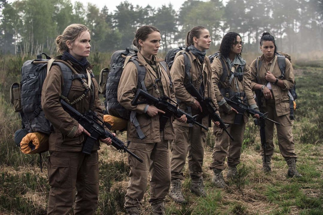 Annihilation : Photo Gina Rodriguez, Jennifer Jason Leigh, Natalie Portman, Tessa Thompson, Tuva Novotny