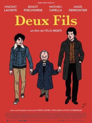 Affiche du film Deux Fils, par Floc'h