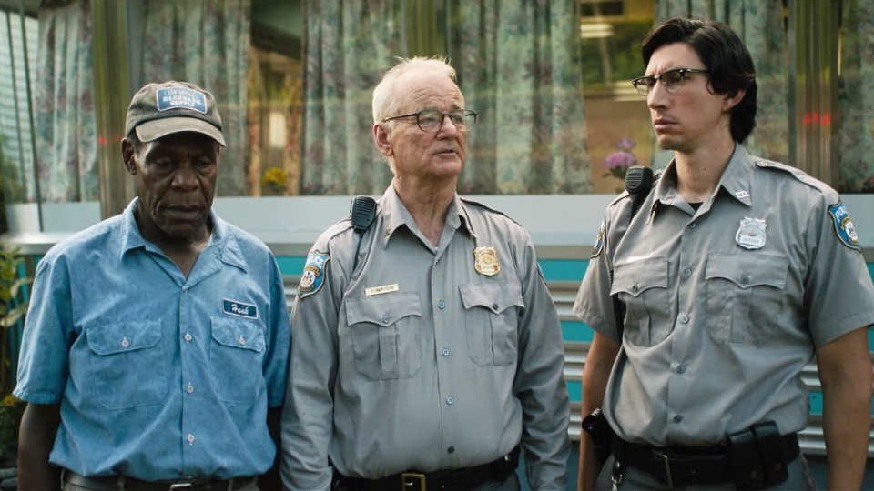 The Dead Don't Die : Photo Adam Driver, Bill Murray, Danny Glover