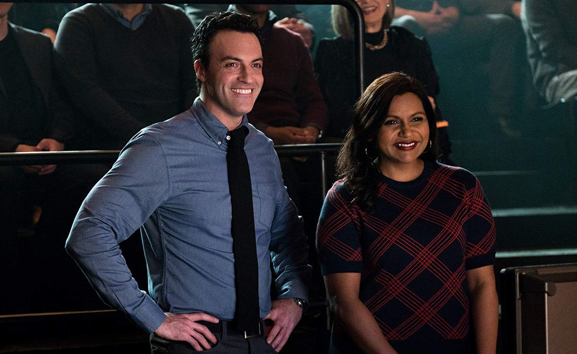 Late Night : Photo Mindy Kaling, Reid Scott